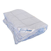 Одеяло шерстяное зимнее SoundSleep Color Dreams голубое 155х210 см