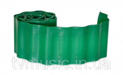 Бордюр газонный зеленый Verano 10 см х 9 м