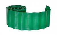 Бордюр газонный зеленый Verano 15 см х 9 м