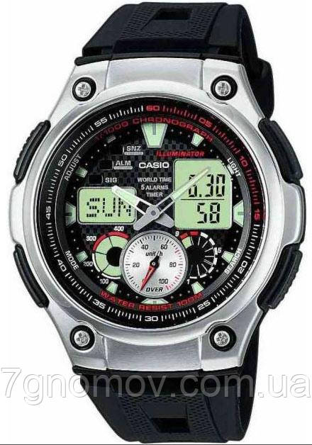 Часы наручные мужские CASIO Standard Combi арт. AQ-190W-1AVEF