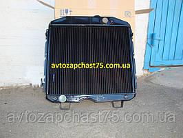 Радиатор  Газ 66 (3-х рядный, медный) ШААЗ , Россия