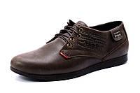 Мужские туфли Levi's, натуральная кожа, коричневые, р. 39 40 41 42 43 44 45