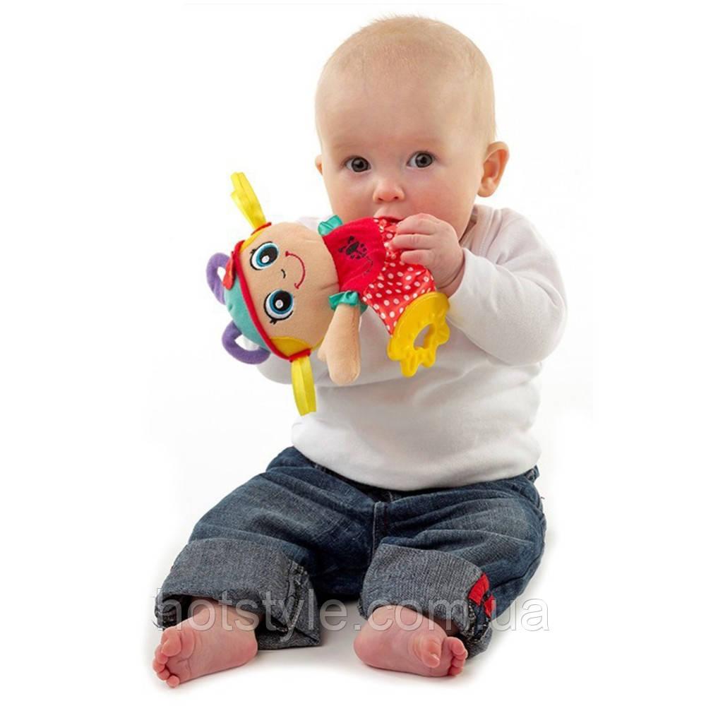 Игрушка для младенцев SOZZY, полотенце со звуком бумаги+прорезыватель