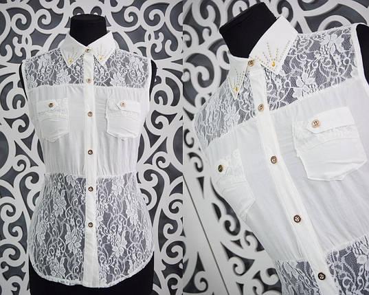 Красивые женские блузки с открытыми плечами 44, 46, 48 размер норма, фото 2