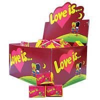 Жевательная резинка Love is... Вишня-Лимон (100шт/уп)
