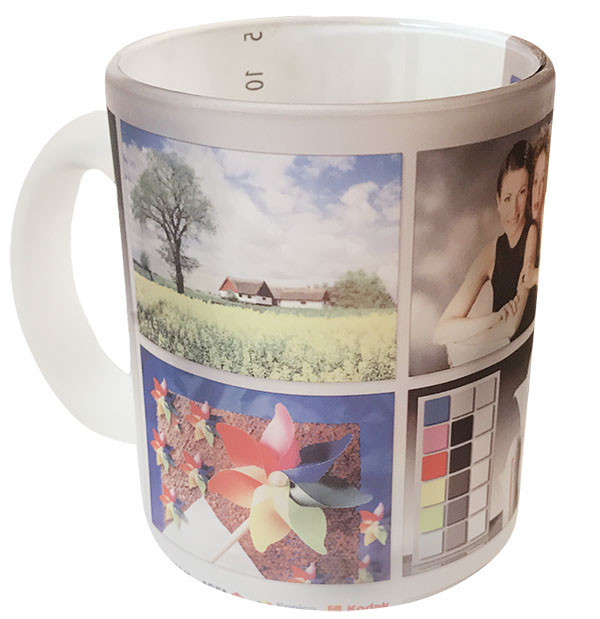 Чашка с Вашим дизайном стеклянная матовая G-Mug11
