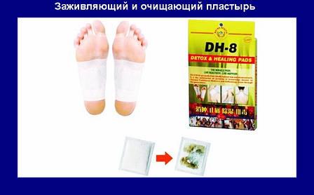 Пластыри для очистки организма и заживления ран DH-8 Detox & Healing Pads, фото 2