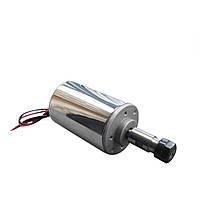 Электро шпиндель 200 Вт 12-48 В для ЧПУ фрезерного станка с воздушным охлаждением, ER11 патрон