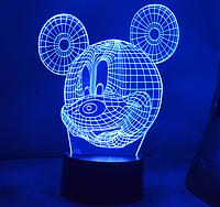Ночник 3d, Led светильник