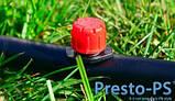 Трубка Presto-PS для капельного полива без капельниц (слепая)  (16мм) 100м, фото 3