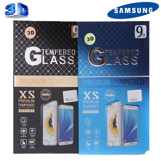Защитное стекло Samsung S7,S7+ 3D (в упаковке)