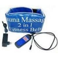 Пояс массажер Sauna Massage 2 in 1 fitness Belt Cауна Фитнесс