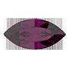 Лодочки Preciosa (Чехия) 15х7 мм Amethyst