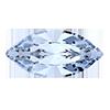 Лодочки Preciosa (Чехия) 15х7 мм Light Sapphire