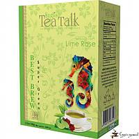 Зелёный чай English Tea Talk Lime Rose Best Brew 100г