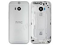 Задняя крышка HTC One M8. серая. оригинал (Китай)