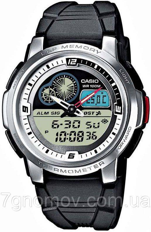 Часы наручные мужские CASIO Standard Combi арт. AQF-102W-7BVDF