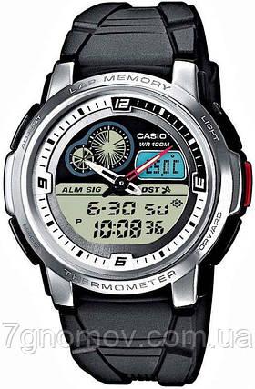 Часы наручные мужские CASIO Standard Combi арт. AQF-102W-7BVDF, фото 2