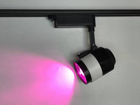 Светодиодный трековый фитосветильник SL -30TRL 30W (full spectrum led) Код.58916, фото 2