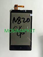 Сенсор (тачскрін) Nokia 820 original чорний