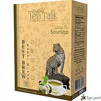 Зелёный чай English Tea Talk Soursop Best Brew 100г, фото 1