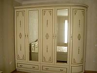 Шкаф из натурального массива дерева коллекция «Полесье»
