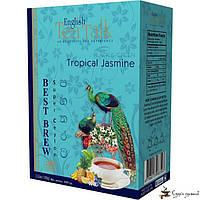 Чёрный и зелёный чай English Tea Talk Tropical Jasmine Best Brew 100г, фото 1