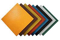 Гумова плитка 500Х500 12 мм вага 11кг м2 (будь-який колір)
