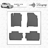 Автомобильные коврики Stingray Chery A-13 2008-
