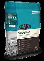 Acana WILD COAST (АКАНА Вайлд Коуст) - корм из трех видов свежих рыб для собак всех пород, 17кг