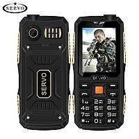 Защищенный телефон Servo V3 black черный IP56 (4SIM) 2,4