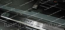 Накладки на пороги Mitsubishi Colt 6 3D (накладки порогов Митсубиси Кольт 6)