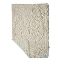Одеяло детское махровое демисезонное Совушка SoundSleep Cute бежевое 140х205 см