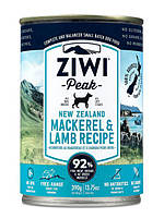 Ziwi Peak Moist Mackerel & Lamb For Dogs - консерви для собак (ягня і скумбрія) 390г.