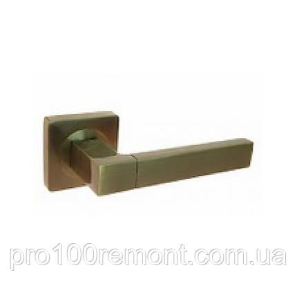 Ручка дверная на розетке NEW KEDR R08.081-AL-AB, фото 2