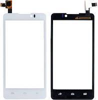 Тачскрин для Prestigio MultiPhone PAP 4505 DUO/Coolpad 7290. белый