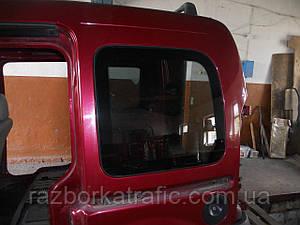 Стекло салона заднее левое на Renault Kangoo
