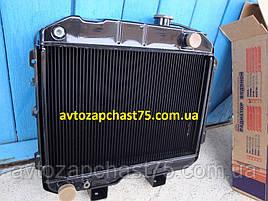 Радиатор Уаз (2-х рядный, медно-латунный) производитель ШААЗ, Россия