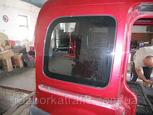 Стекло салона заднее правое на Renault Kangoo
