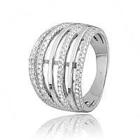 Серебряное кольцо с фианитом К2Ф/230 - 19