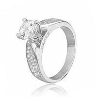 Серебряное кольцо с фианитом К2Ф/232 - 19