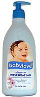 Гель для душа-шампунь детский DM Babylove Waschbalsam Malven-Extrakt 500мл.