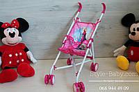 Детская металлическая коляска трость для кукол