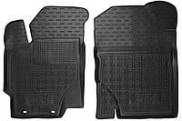 Полиуретановые передние коврики в салон Toyota Yaris III (XP13) 2015- (AVTO-GUMM)