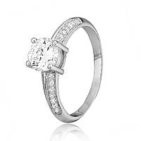 Серебряное кольцо с фианитом К2Ф/240 - 18,4