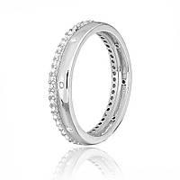 Серебряное кольцо с фианитом К2Ф/244 - 18,1