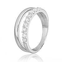Серебряное кольцо с фианитом К2Ф/247 - 16,5
