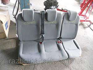 Сиденье пассажирское тройное на Renault Kangoo