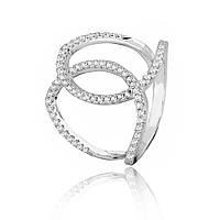 Серебряное кольцо с фианитом К2Ф/260 - 19