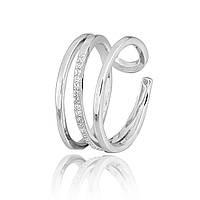 Серебряное кольцо с фианитом К2Ф/261 - 19